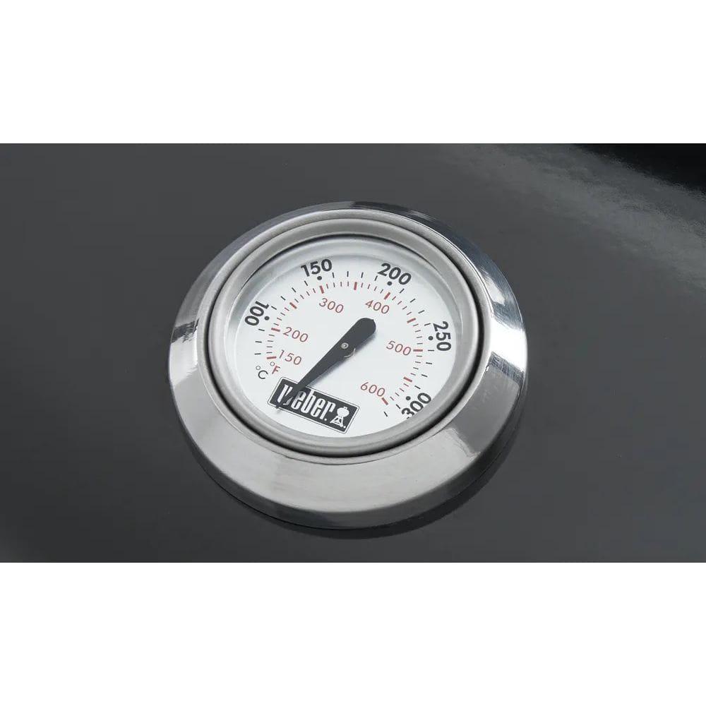 ウェーバー コンパクトケトル チャコールグリル47cm / 温度計付 黒 1221308