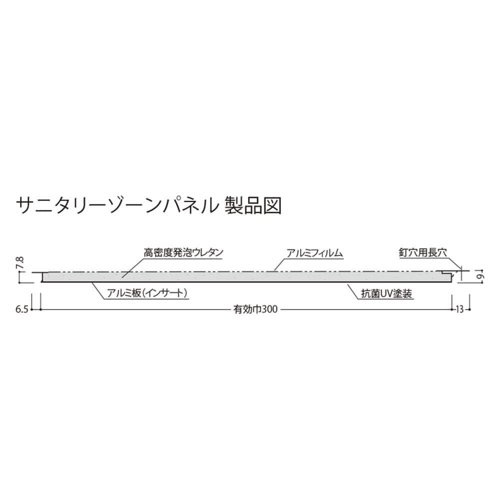 【ケース販売】サニタリーゾーンパネル ロートシェス×12個[2200024523501×12]【別送品】