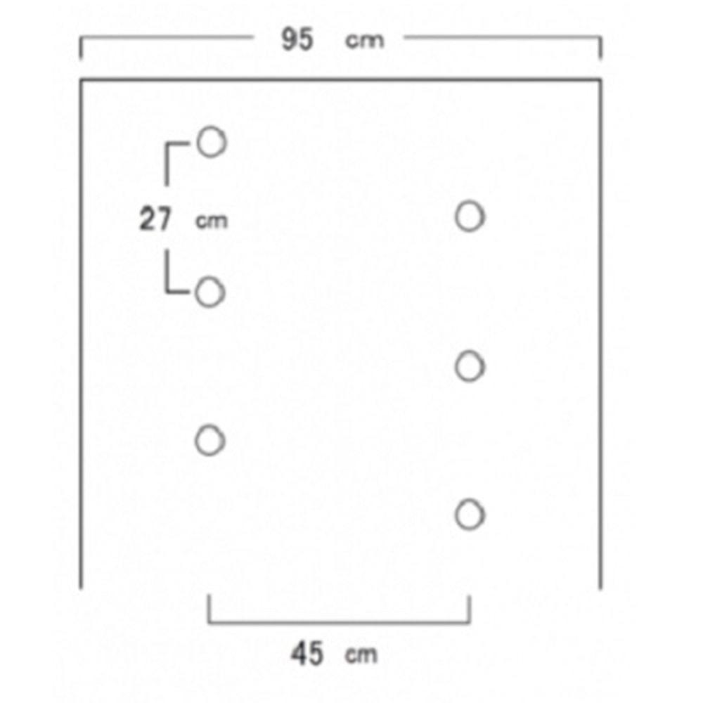 ホーリーシート B9227 60φ チドリ穴 200m 5本P