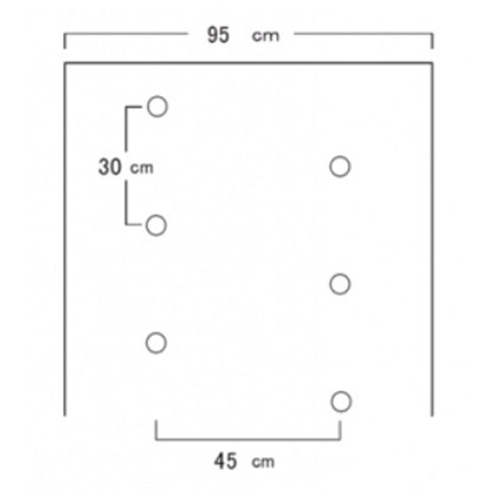 ホーリーシート B9230 60φ チドリ穴 200m 5本P