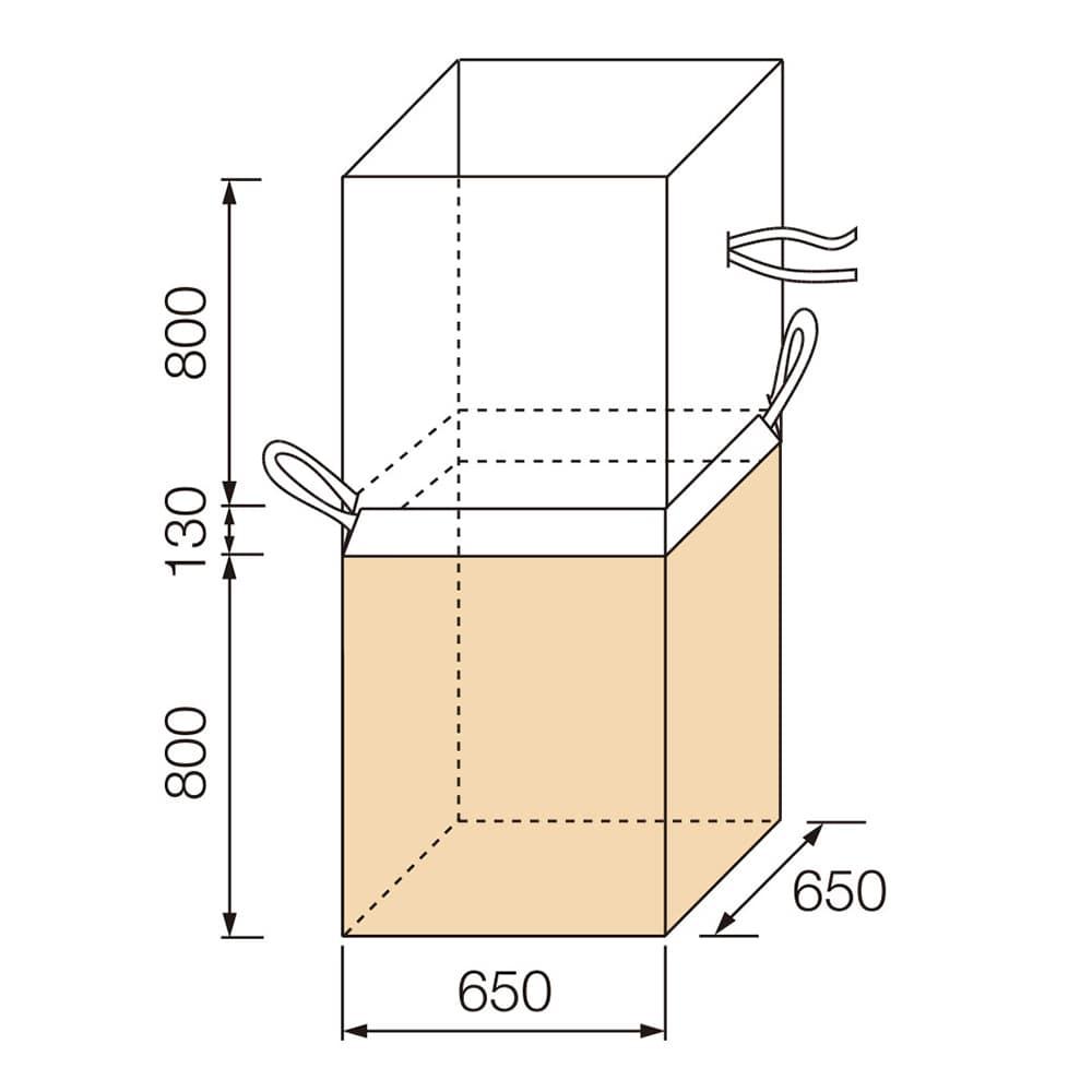 【ケース販売 】フレコンバッグ 角型 930KS[4965815584625×10枚]【別送品】