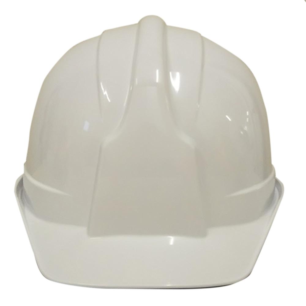 ヘルメット電工用ツバ有り SS100−AJX白