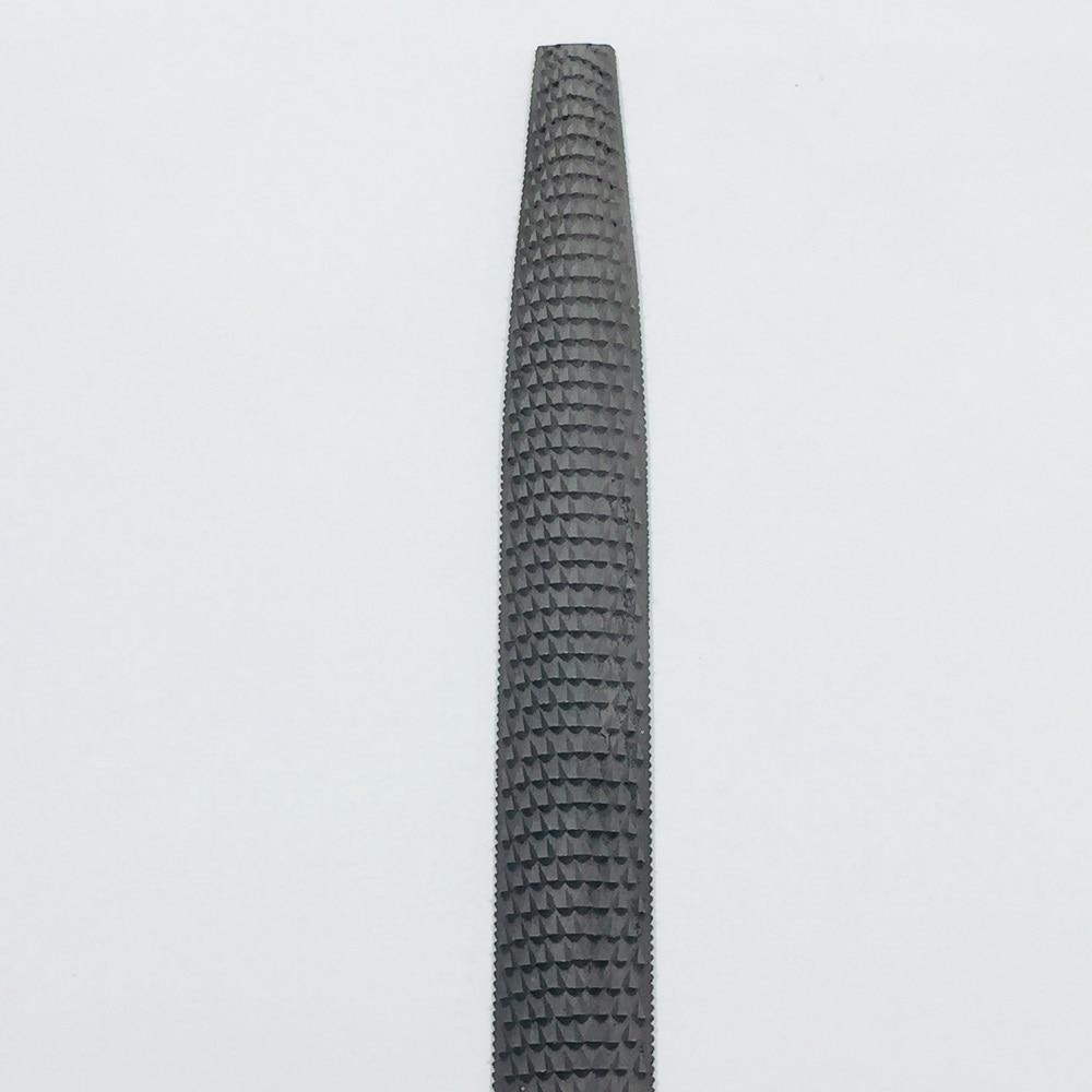 ツボサン木工ヤスリ柄無し 半丸 250mm