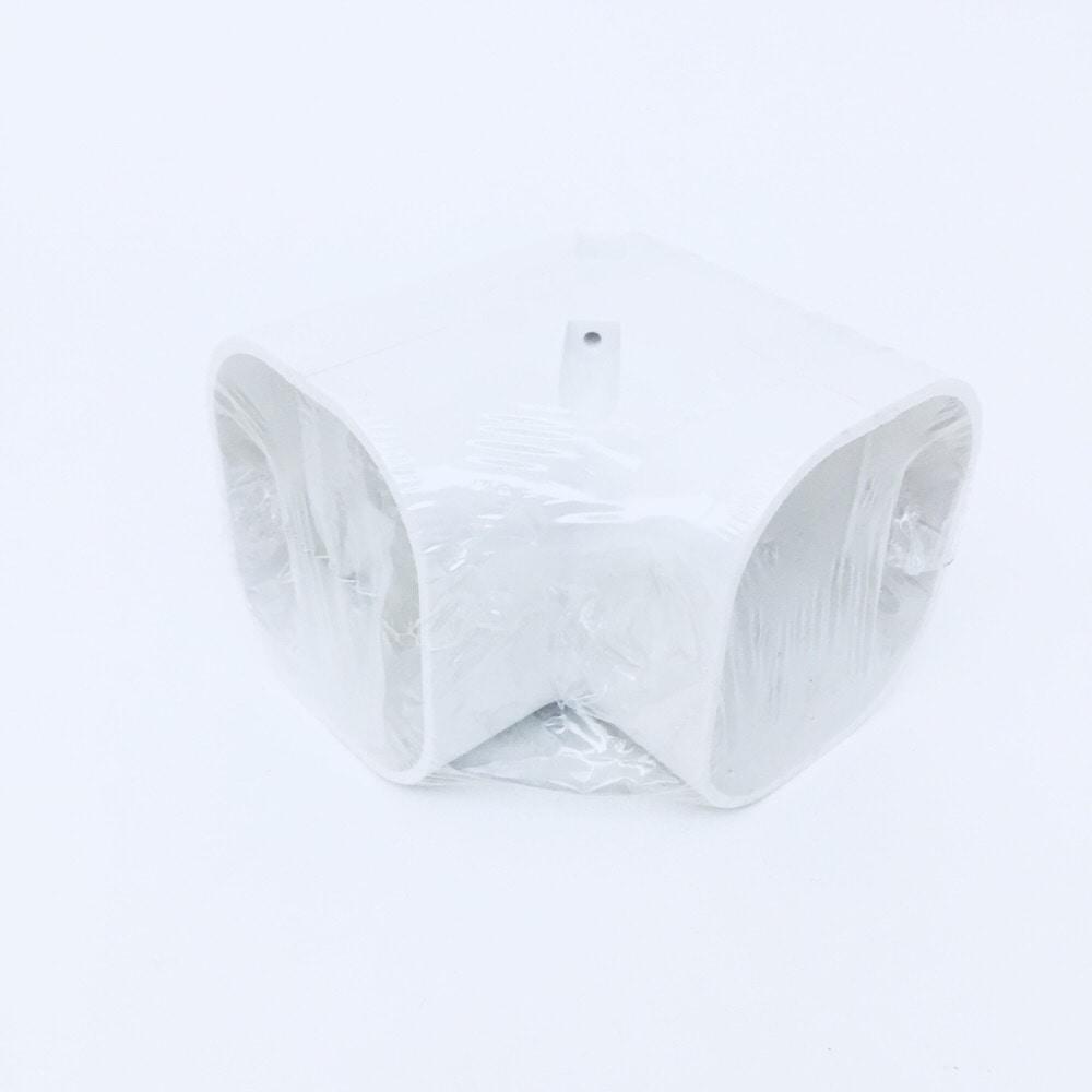 因幡 スリムコーナー立面90度 ホワイト SC-77-W