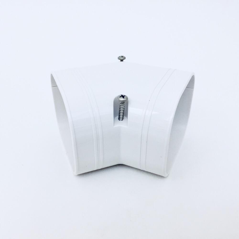 因幡 スリムコーナー平面45度 ホワイト SKF-77-W