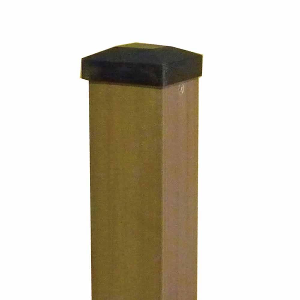 【SU】レシナ-g ポスト 2100 高さ210×幅6cm ウォルナット【別送品】