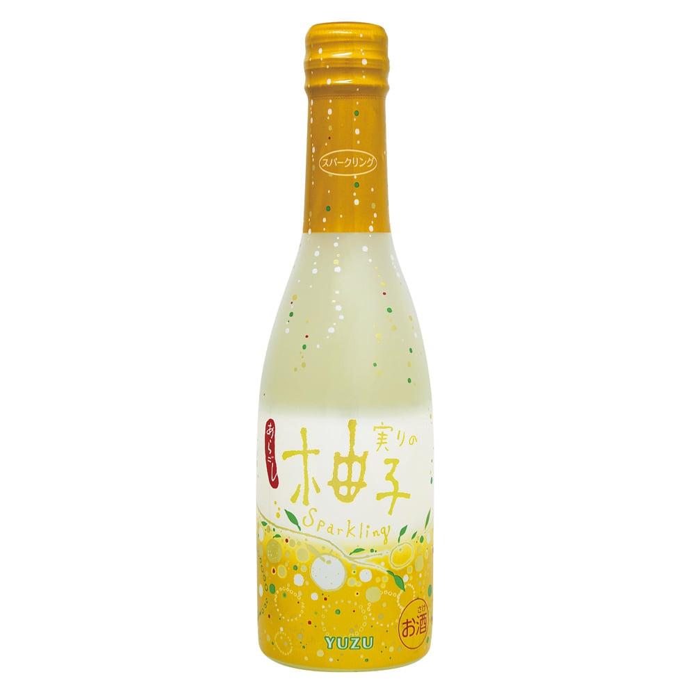 実りのスパークリング 柚子 250ml【別送品】
