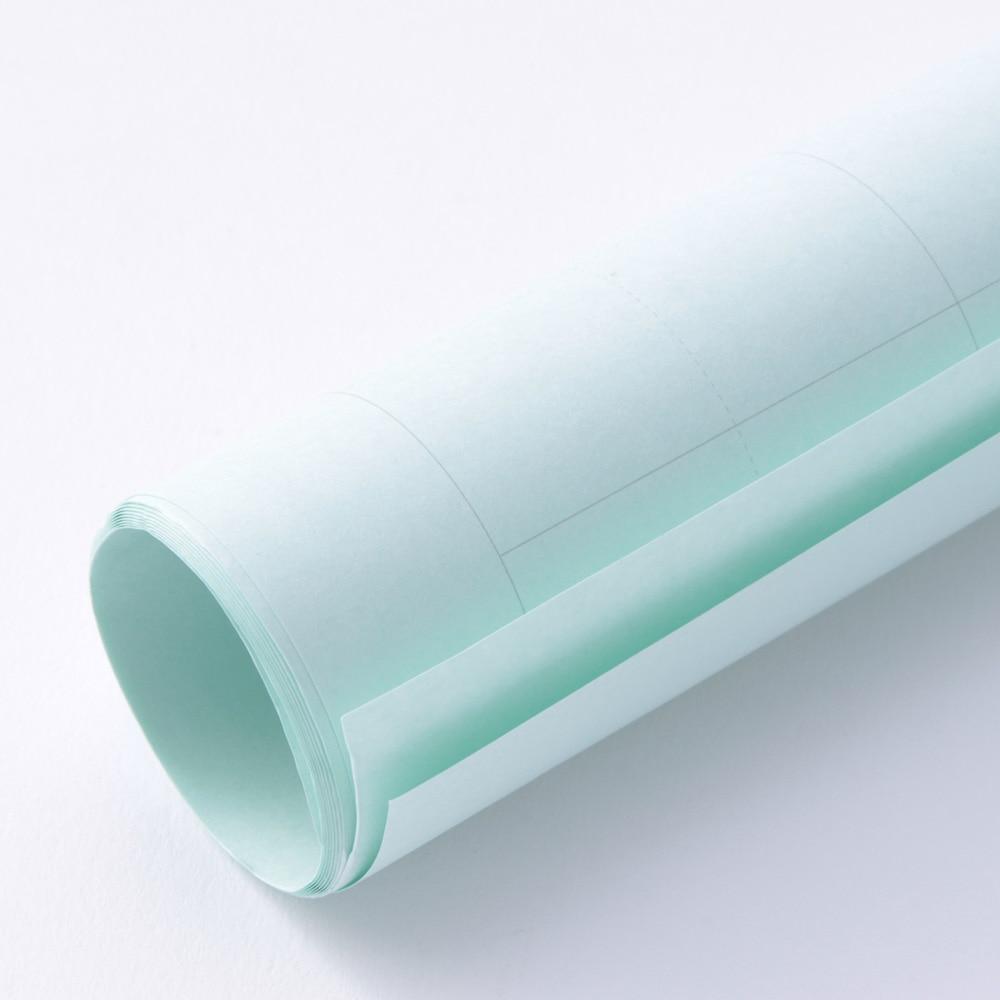 K マス目模造紙 ブルー 2枚