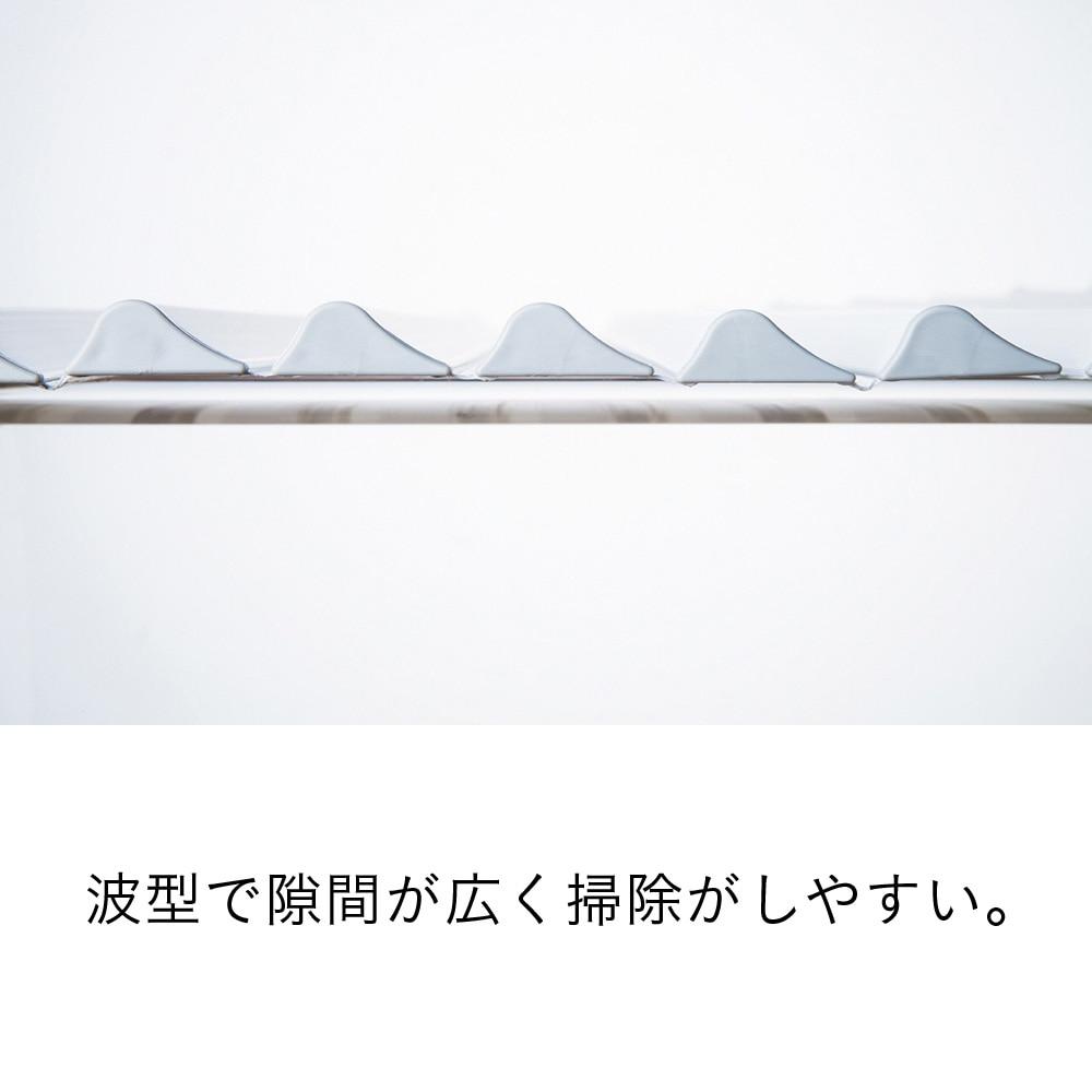 コンパクト波型風呂フタ L12(75×120cm)