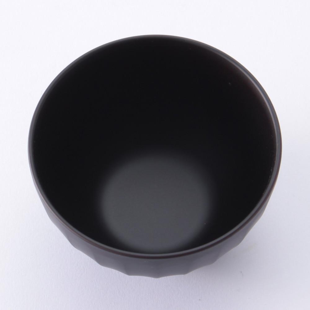しのぎ汁椀 黒