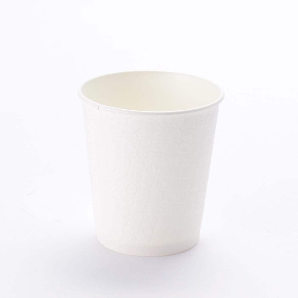 断熱紙コップ 250ml×12個入り ホワイト