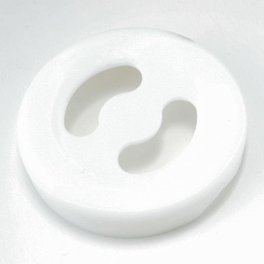 魔法のタンブラー用ボトムカバー ホワイト