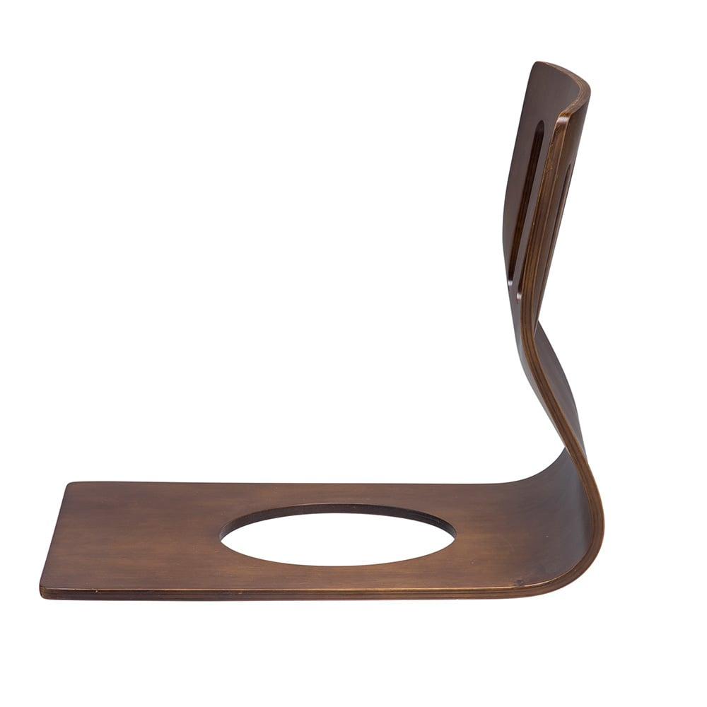 和風曲げ木座椅子 ブラウン