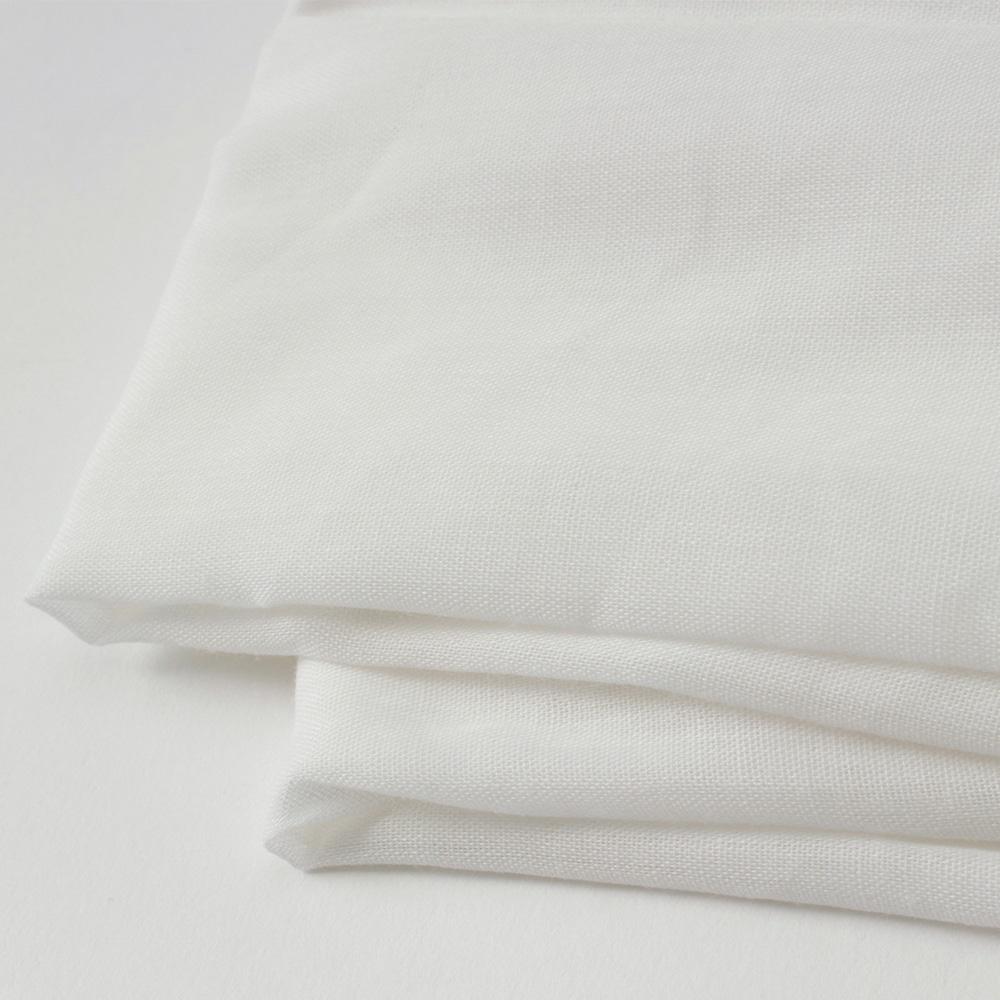 敷布団カバー綿混 シングルロング 105×215 ホワイト