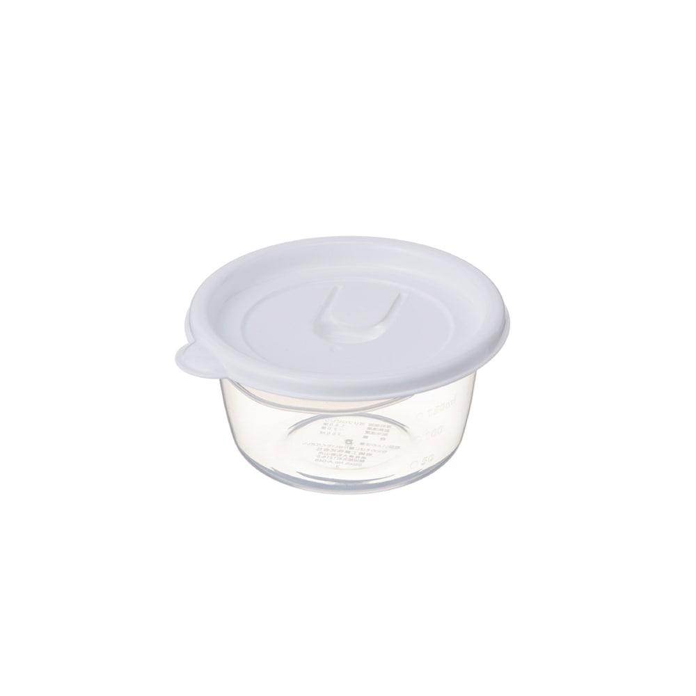 【数量限定】レンジで使える保存容器 ごはん一膳用(260ml) 4個入り