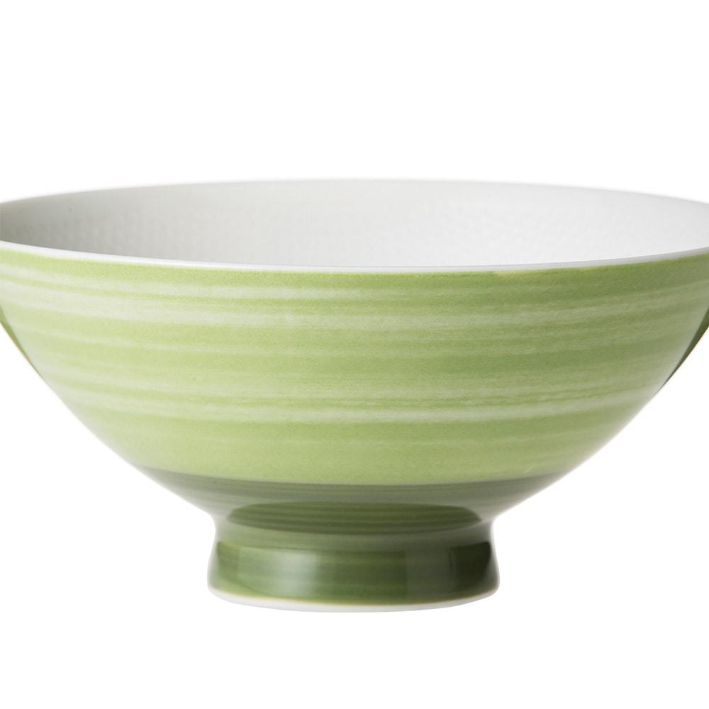 ごはんがつきにくい茶碗 大 iroe グリーン