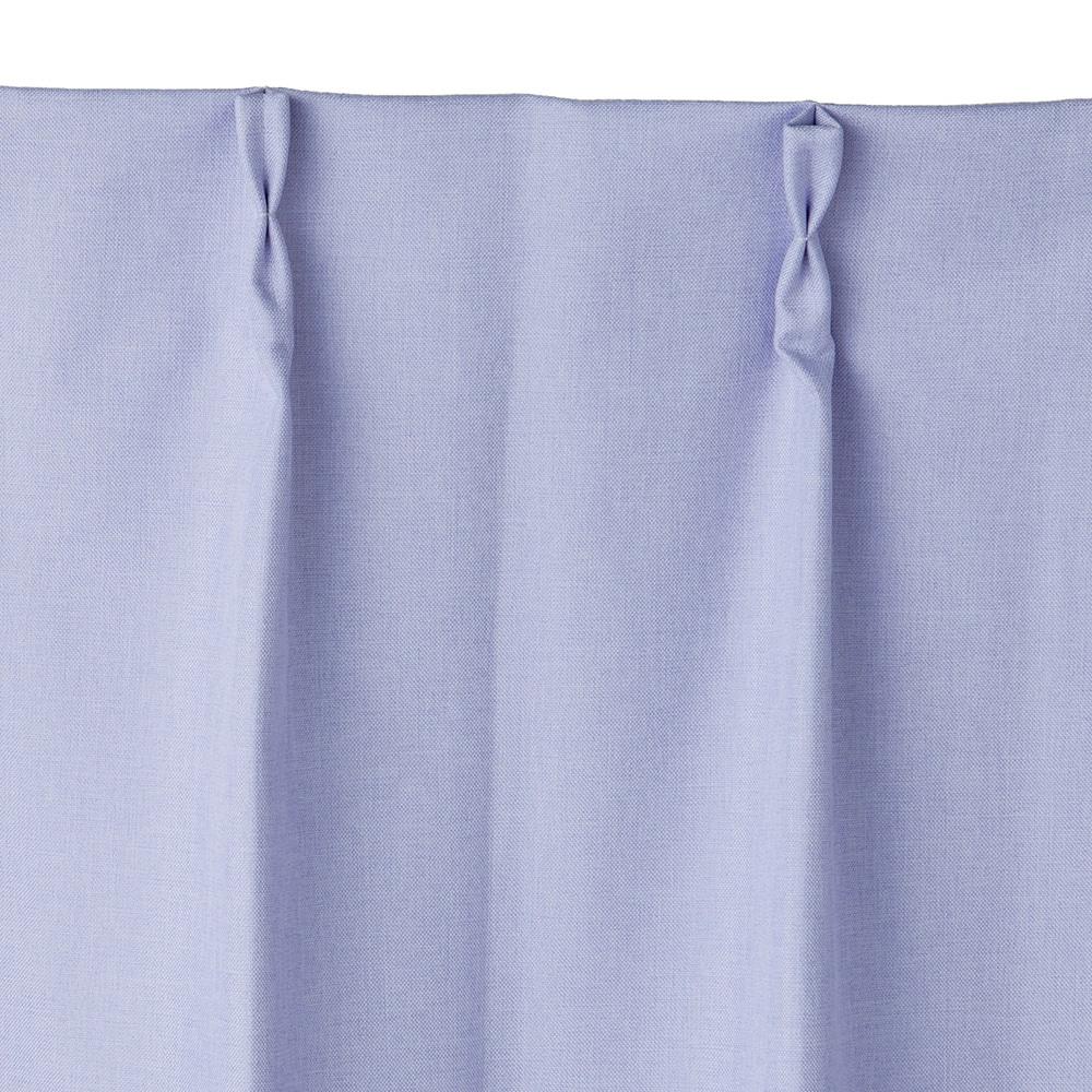 遮音遮熱遮光カーテン コスモ パープル 200×230 1枚入