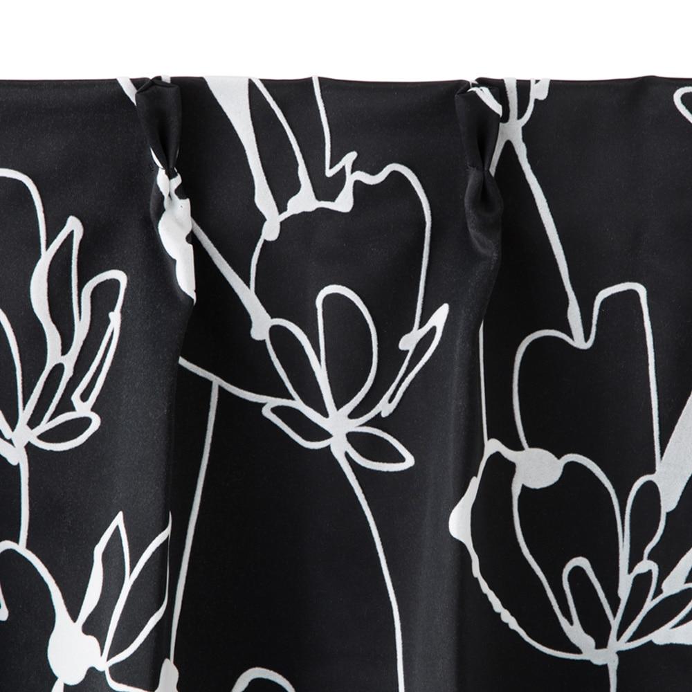 遮光性カーテン フィオーレ ブラック 100×178 2枚組