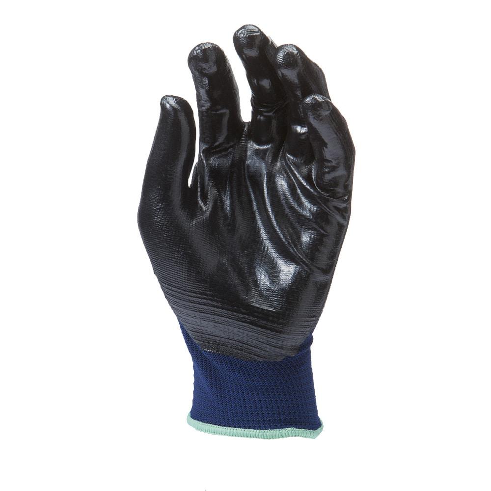 HARD GRIP ライト ニトリル背抜き手袋 3双組 LL