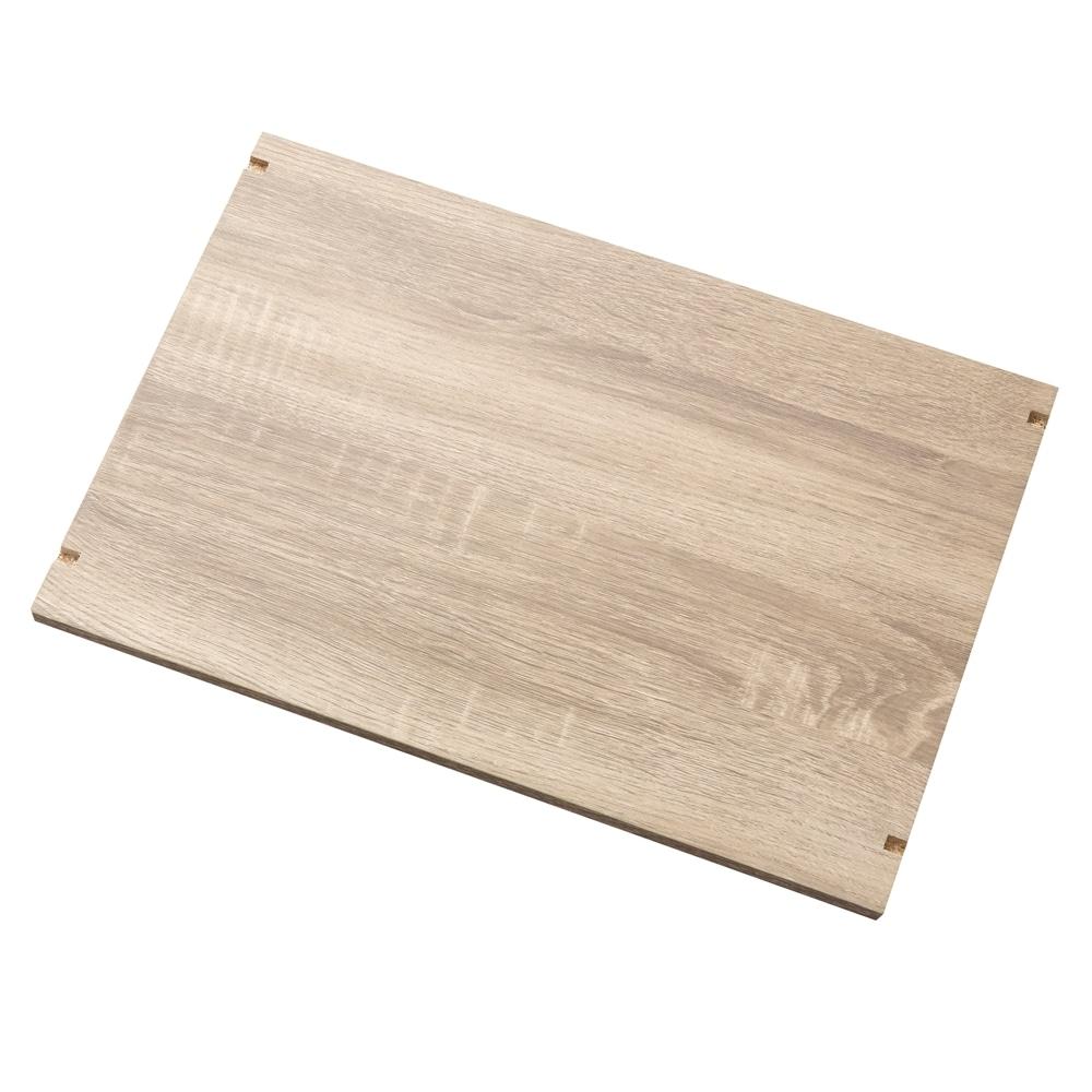 可動棚収納ボックス用 棚板 ナチュラルエルム