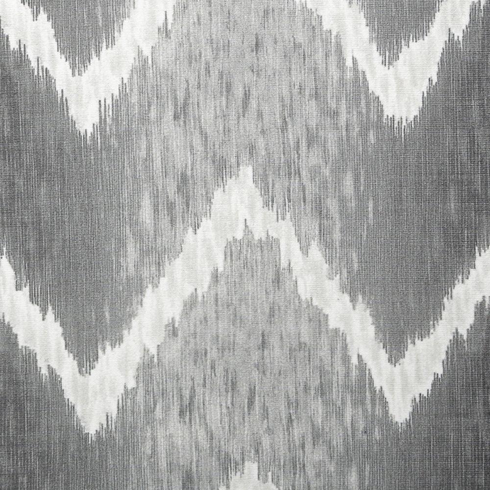 ダイニングチェアパッド ウェーブ グレー 40×38×4.5