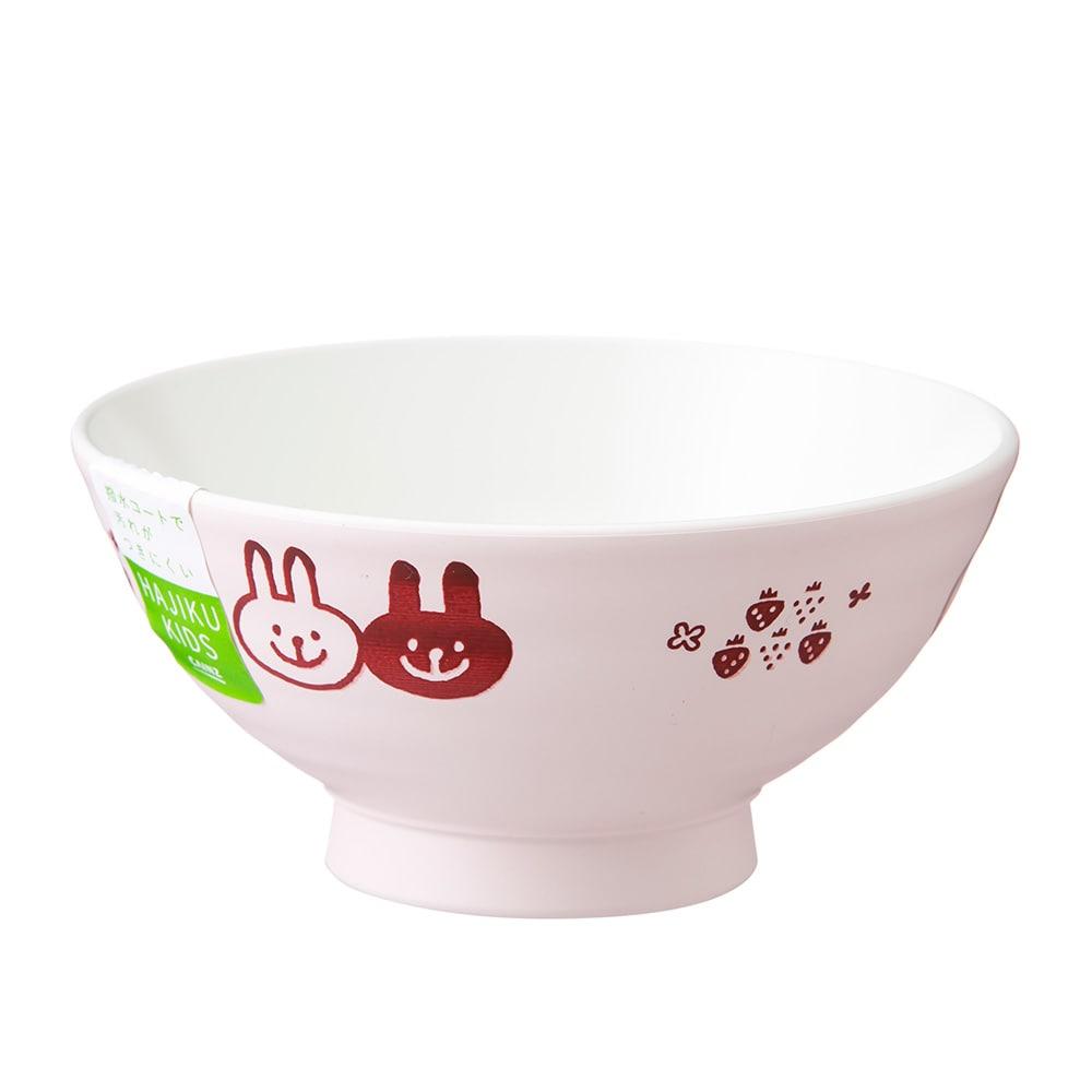 子供用食器 飯椀 うさぎ HAJIKU