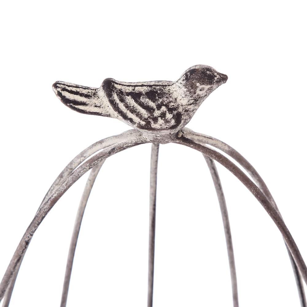 【trv】ブリキ プランツスタンド 小鳥