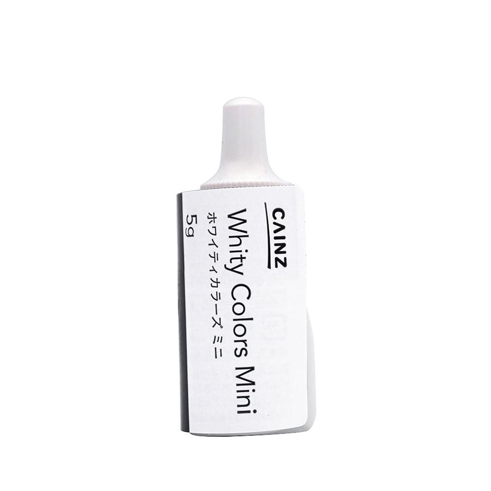 CAINZ 室内用塗料 ホワイティカラーズ ミニ 5g オフホワイト