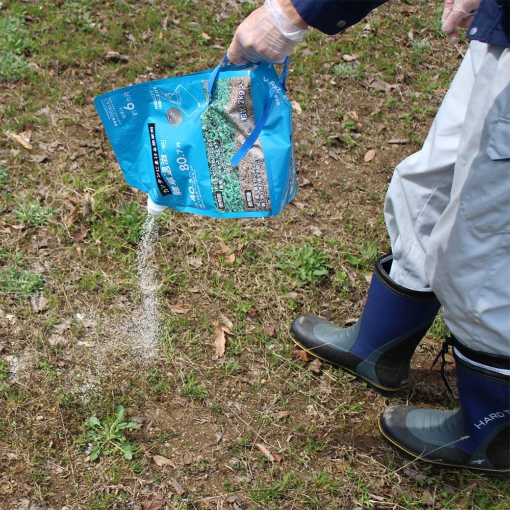 カンタンにまける除草粒剤 かれるくん2kg