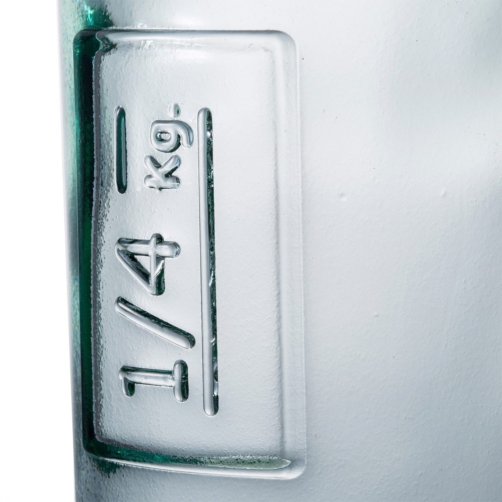 【trv】スペイングラスアルミキャップ付きジャー250ml