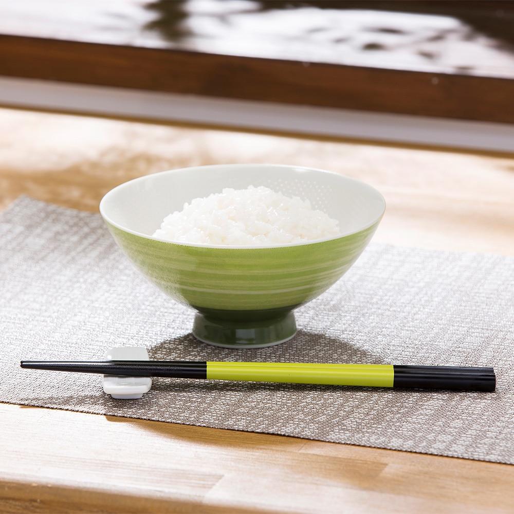 塗箸 iroe 23.0cm グリーン