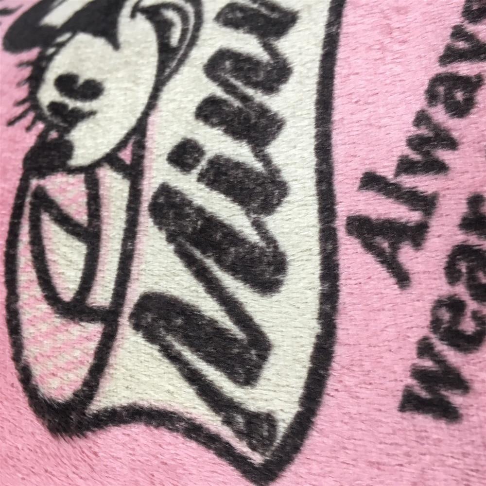 カバーも洗えるS型抱き枕 ミニー 40×100cm