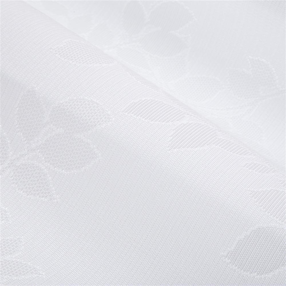 遮熱・ミラーレースカーテン エコリーフ 100×175 2枚組
