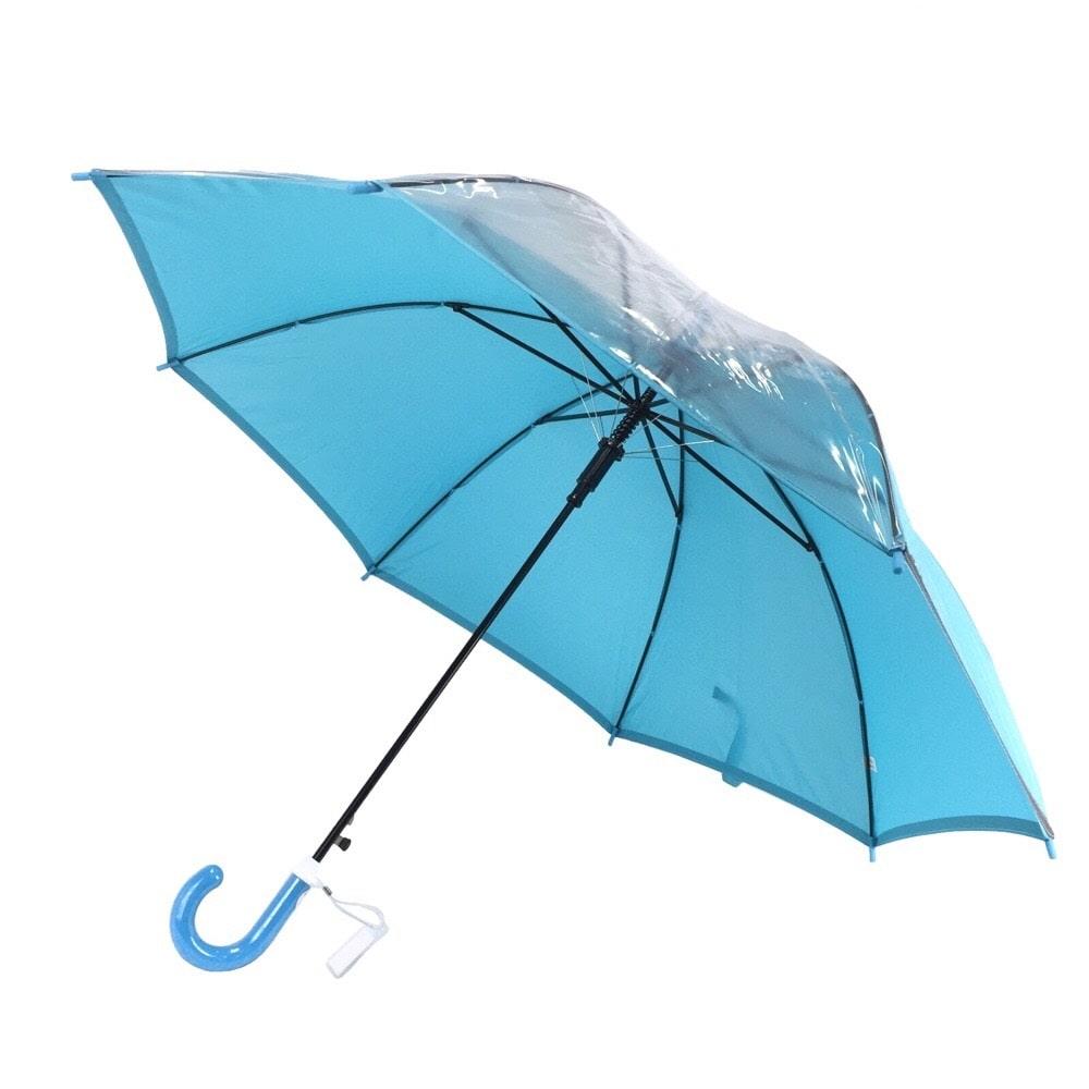 視界安全学童傘 55cm ブルー