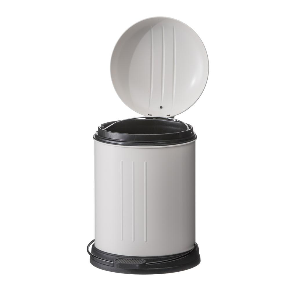 【trv・数量限定】静かにしまるゴミ箱5L