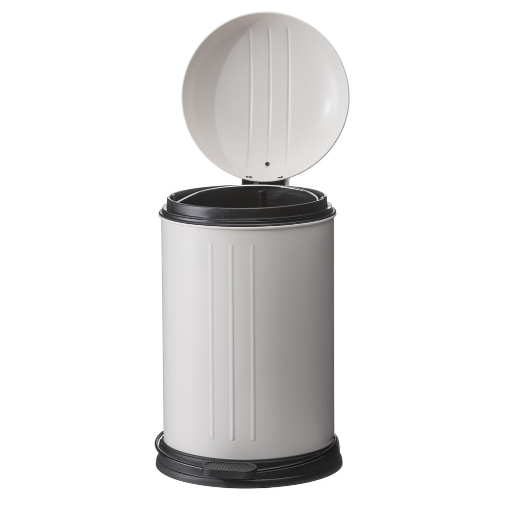 【trv】静かにしまるゴミ箱12L