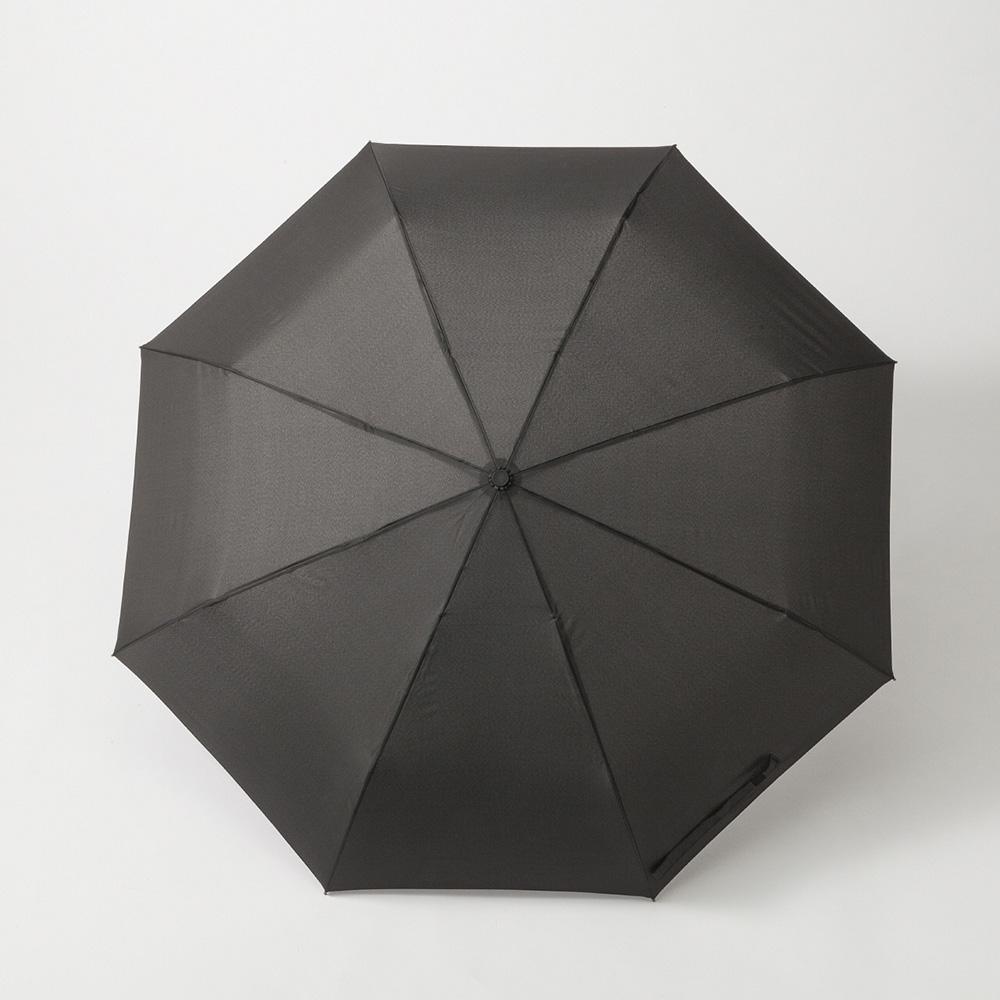 【数量限定】撥水折りたたみ傘 63cm ブラック