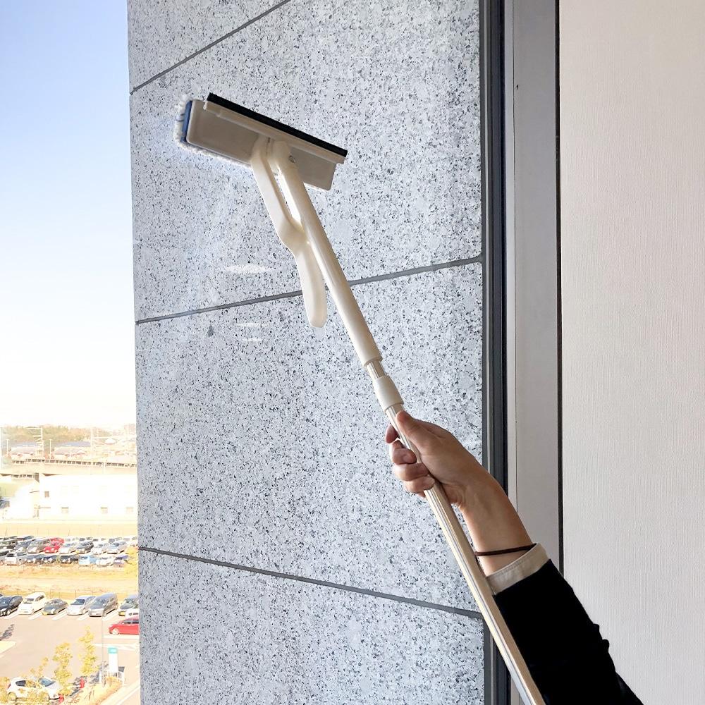 手を汚さず絞れる窓・網戸ワイパーワイド F1450
