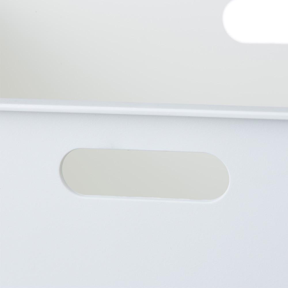 インテリアコンテナ L シンプルホワイト