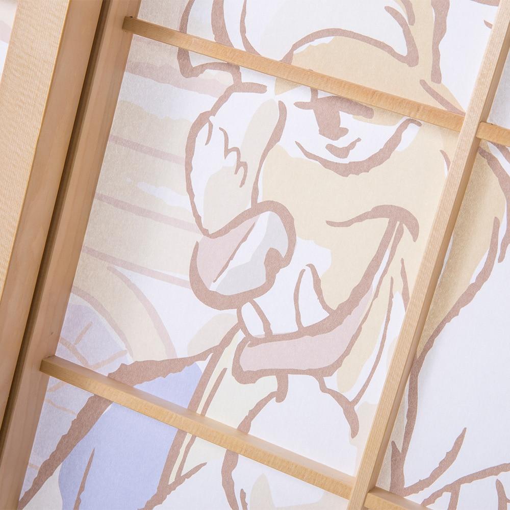 ディズニー 障子紙 美女と野獣