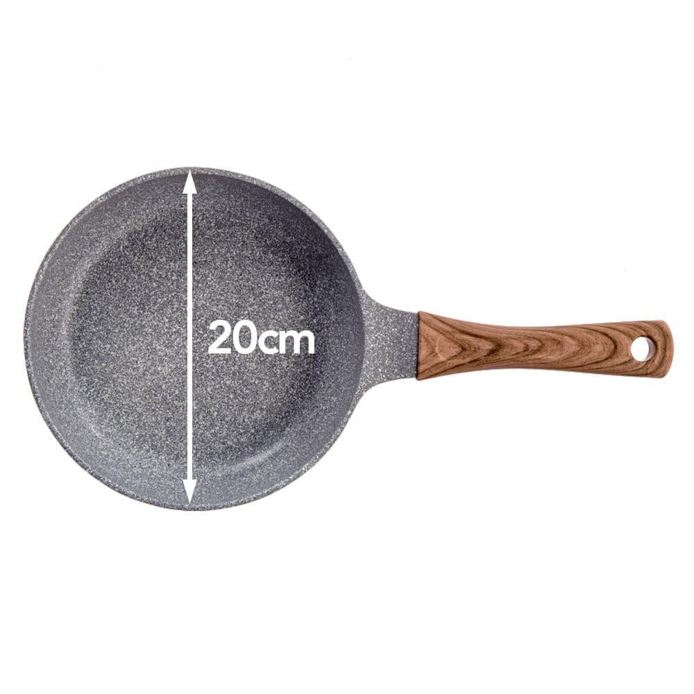 ストーンマーブル フライパン 20cm (510g)