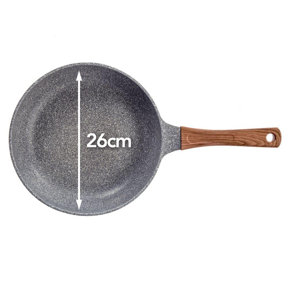 ストーンマーブル フライパン 26cm(620g)