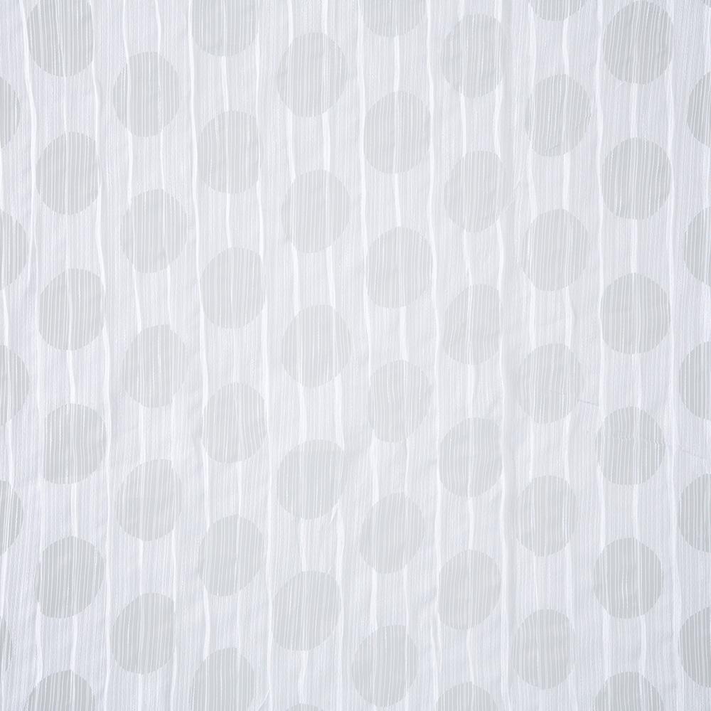 オパールプリーツカフェカーテン ドット150×75cm