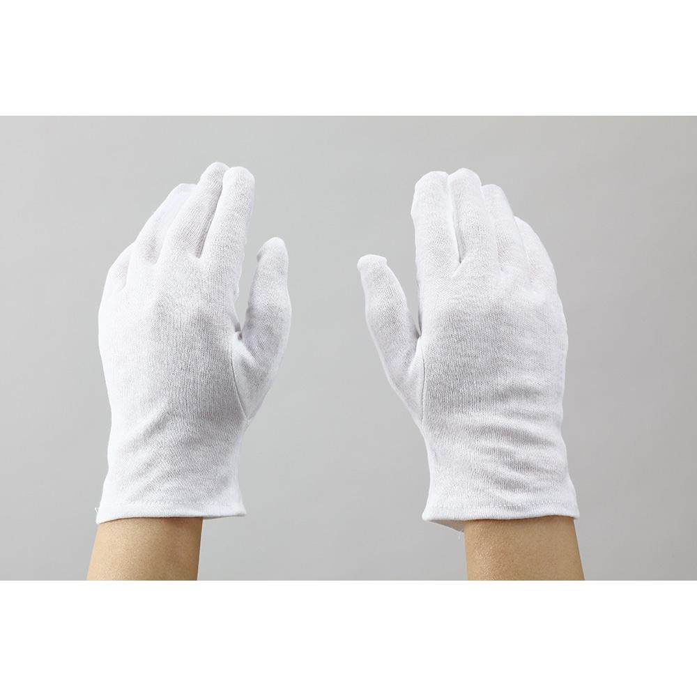 【数量限定】マチなし薄手 スムス手袋 12双組 L