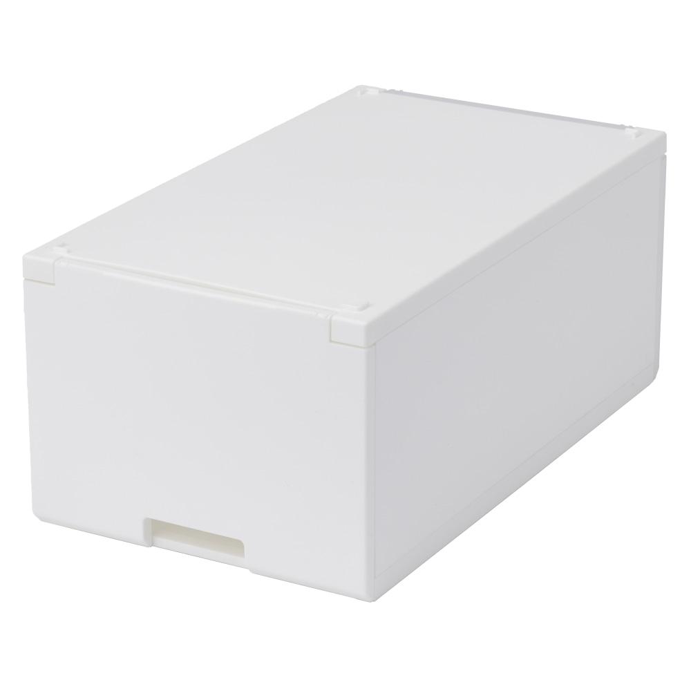 積み重ねたまま取り出せる組立式ケース ロータイプ