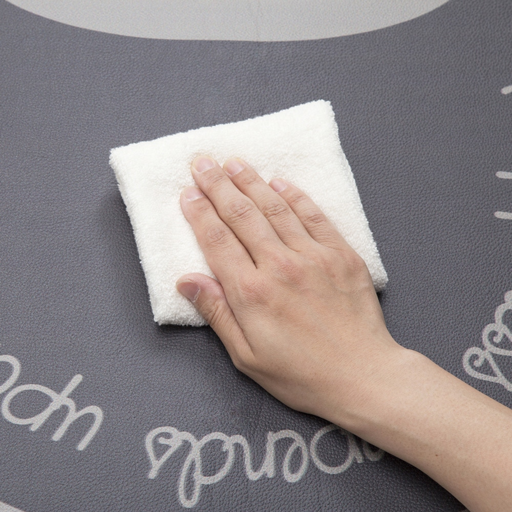 シートで拭けるトイレマット 丸型