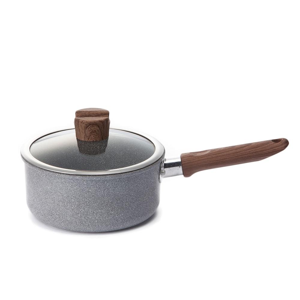 ストーンマーブル 片手鍋 18cm