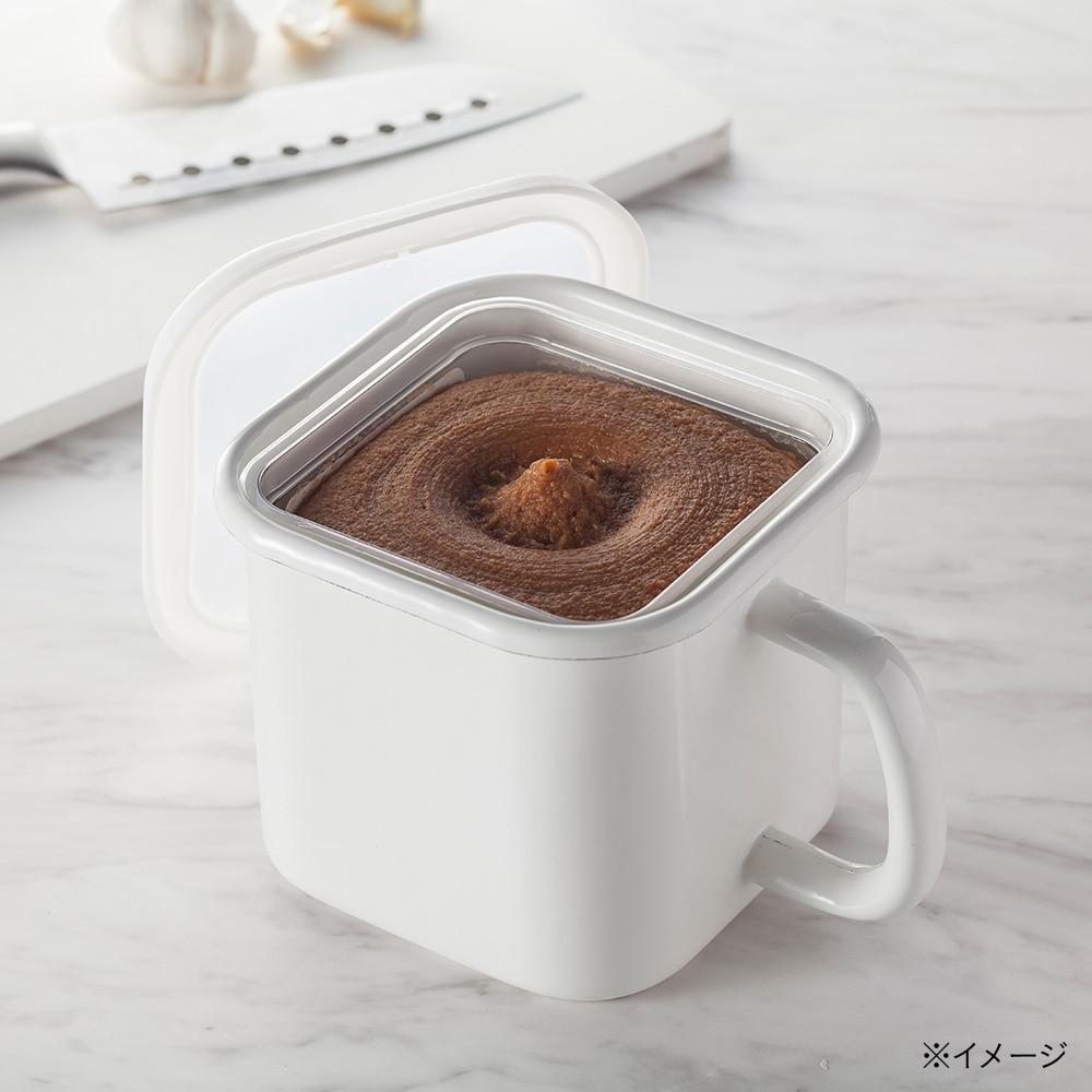 【数量限定】ホーロー味噌ポット 1350ml