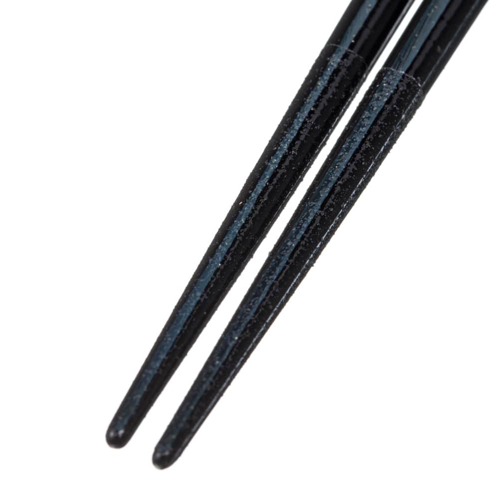 【trv・数量限定】木箸 ジュエリーライン ブルー 23cm