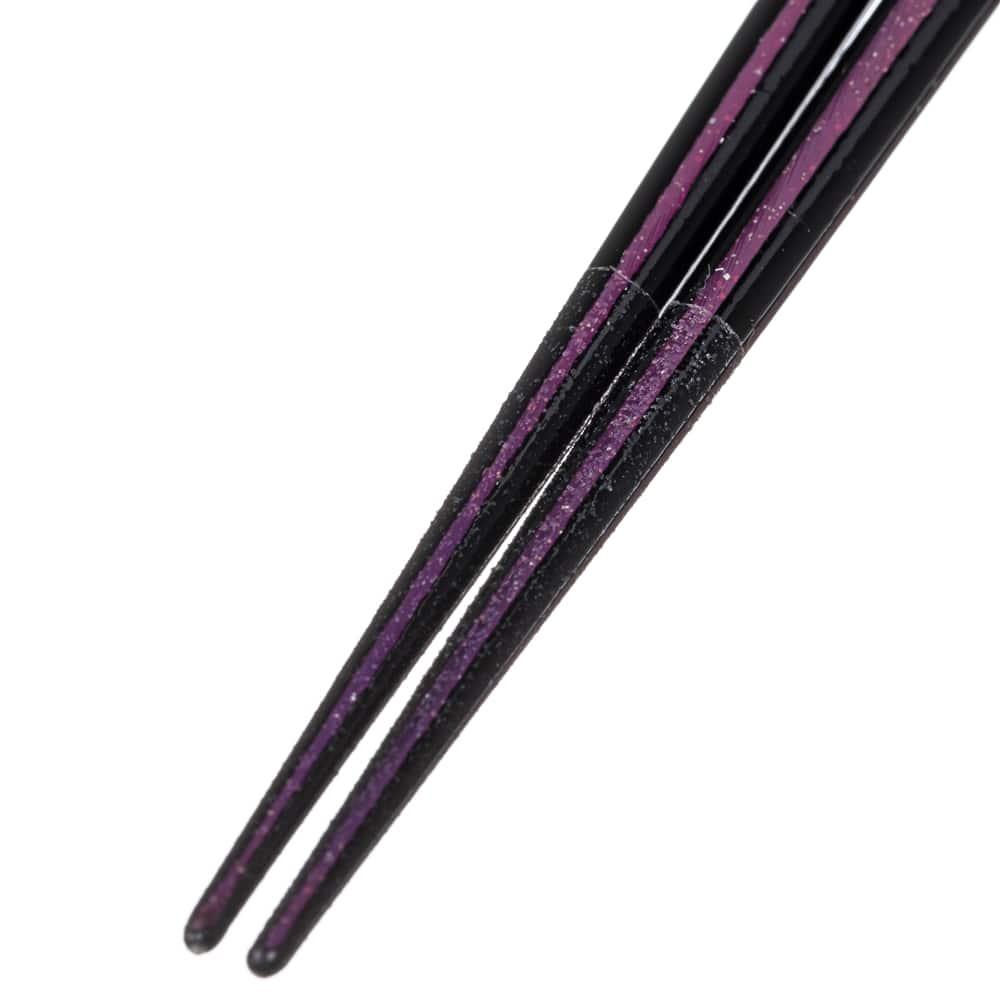 【trv・数量限定】木箸 ジュエリーライン ピンク 23cm